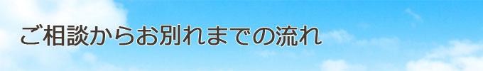 神戸市のペット火葬、動物霊園のご相談の流れ