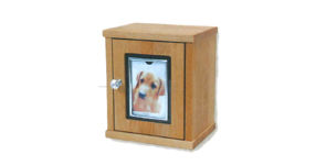 ペット火葬後のメモリアルボックス